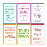 Inspirational African American Quotes Bulletin Board Set