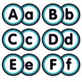 Aqua Oasis Alphabet Bulletin Board Set
