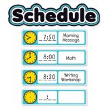 Aqua Oasis Schedule Mini Bulletin Board Set