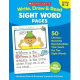 Write, Draw & Read Sight Word Pages