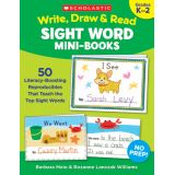 Write, Draw & Read Sight Word Mini Books