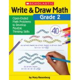 Write & Draw Math, Grade 2