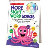 More Sight Word Songs Flip Charts, 2nd 50 words