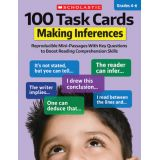 100 Task Cards, Making Inferences