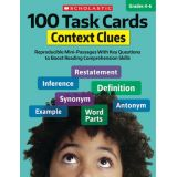 100 Task Cards, Context Clues
