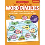 Read, Sort & Write: Word Families