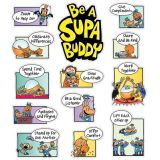 Dog Man Be a Supa Buddy Bulletin Board Set