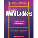 Daily Word Ladders: Content Areas, Grades 4-6