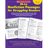 Hi-Lo Nonfiction Passages for Struggling Readers, Grades 6-8