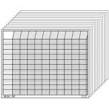 Horizontal Chart Set, White