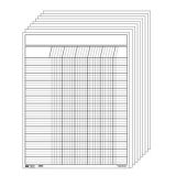 Vertical Chart Set, White