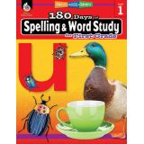 180 Days of Spelling & Word Study, Grade 1