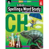 180 Days of Spelling & Word Study, Grade 6