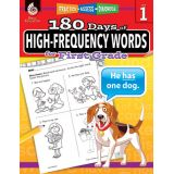 180 Days of High-Frequency Words, Grade 1