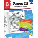 Prove It! Using Textual Evidence, Levels 6-8