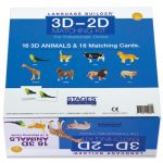 Language Builder® 3D–2D Matching Kit, Animals