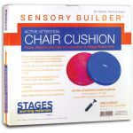Sensory Builder® Active Attention Chair Cushion, Red