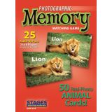 Photographic Memory Matching Game, Animals