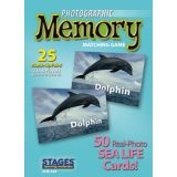 Photographic Memory Matching Game, Sea Life