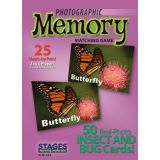 Photographic Memory Matching Game, Insects & Bugs