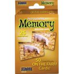 Photographic Memory Matching Game, On the Farm
