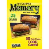 Photographic Memory Matching Game, Food