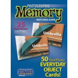 Photographic Memory Matching Game, Everyday Objects