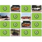 Photographic Memory Matching Game, Vehicles