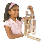Ideal 'N' Marbles 60 Piece Classic Wood Construction Set