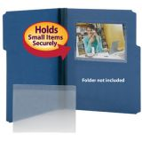 Smead® Self-Adhesive Poly Pockets, Photo Pocket, 6 x 4, Pack of 100