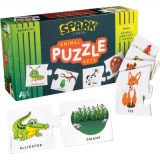 Animal Home and Habitat Matching Puzzle