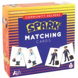 Community Helpers Matching Cards Memory Game