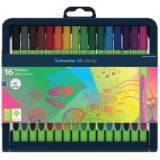 Schneider® Line-Up Fineliner Pens, 16 colors