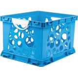 Interlocking Crate, Large, Blue