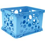 Interlocking Crate, Mini, Blue