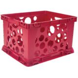 Interlocking Crate, Mini, Red
