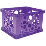 Interlocking Crate, Mini, Purple