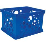 Interlocking Crate, Micro, Blue