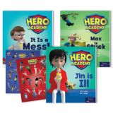Hero Academy Leveled Readers, Grade K (50L-90L)