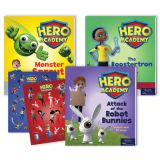 Hero Academy Leveled Readers, Grades 1-2 (440L-540L)