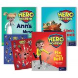 Hero Academy Leveled Readers, Grade 1 (230L-250L)
