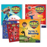 Hero Academy Leveled Readers, Grade 1 (210L-320L)