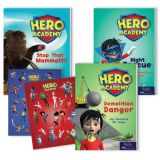 Hero Academy Leveled Readers, Grades 2-3 (550L-610L)