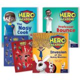 Hero Academy Leveled Readers, Grades 2–3 (480L-540L)