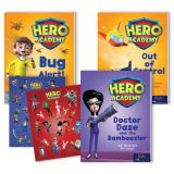 Hero Academy Leveled Readers, Grades 2–3 (550L)
