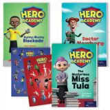 Hero Academy Leveled Readers, Grades 3-4 (590L-620L)