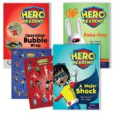 Hero Academy Leveled Readers, Grades 3-4 (580L-750L)