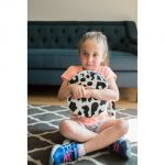 Senseez® Vibrating Sensory Cushion, Furry Cow Touchables
