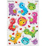 Sparkle Stickers® Large, Llama Llove