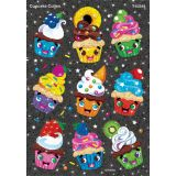 Cupcake Cuties Sparkle Stickers®